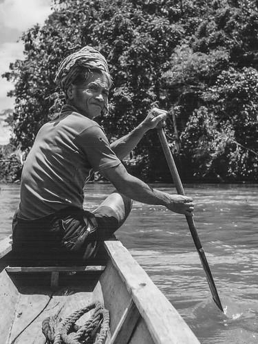 jaga luan ('watch the front') on Batang Ai, 1967