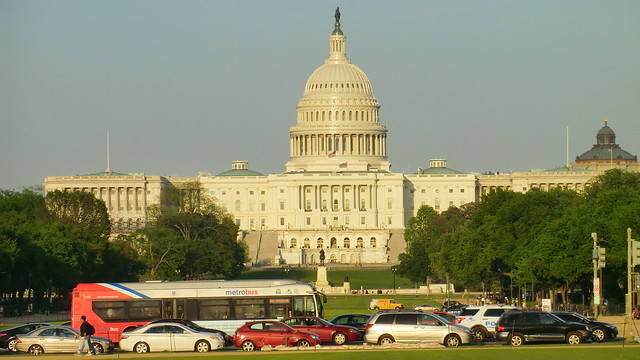 Washington D.C. - The mighty Capitol building