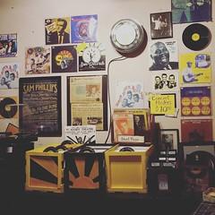 The record shop inside Sun Studio, Memphis TN