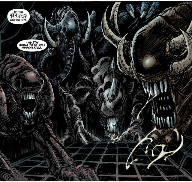 《異形:聖約》特別報導:你一定沒看過的 15 種漫畫版特殊異形!