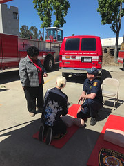LAFD Reduces Risk to Sherman Oaks During Annual Open Firehouse Event