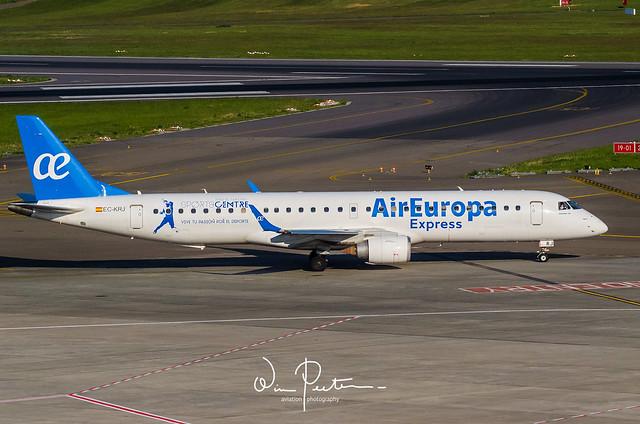 Air Europa Express Embraer, Nikon D7000, AF-S Nikkor 200-500mm f/5.6E ED VR