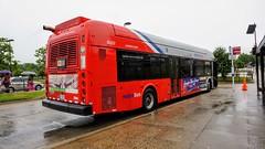 WMATA Metrobus 2009 New Flyer DE40LFA #6357