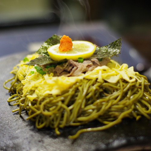 元祖 瓦そば #food #japanesefood #soba #noodles #sobanoodles #kawarasoba #yamaguchi #japan