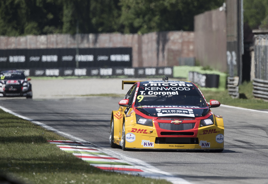 09 CORONEL Tom (ned) Chevrolet RML Cruze team ROAL Motorsport action during the 2017 FIA WTCC World Touring Car Race of Italy at Monza, from April 28 to 30  - Photo Gregory Lenormand / DPPI