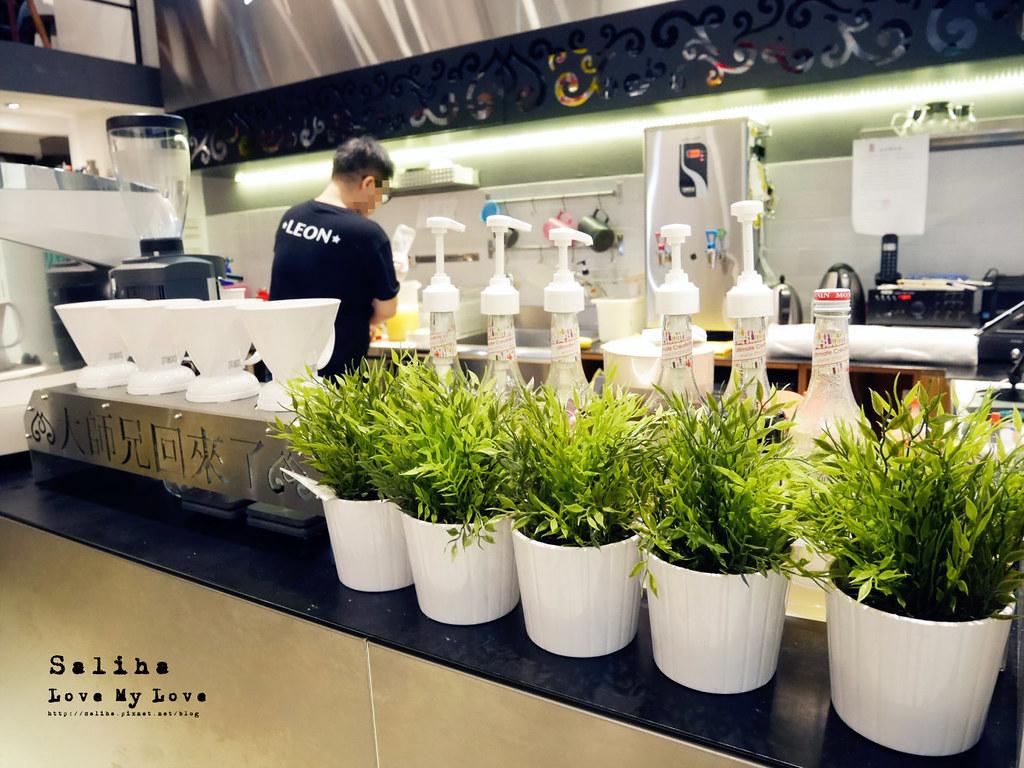 台北松山南京三民站附近餐廳推薦大師兄咖啡早午餐好吃麵 (3)