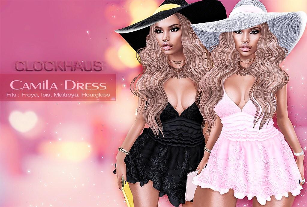 Camila Dress EXCLUSIVE for AnyBODY - SecondLifeHub.com