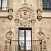 """Detalle de la fachada de la """"Casa de las Muertes"""""""