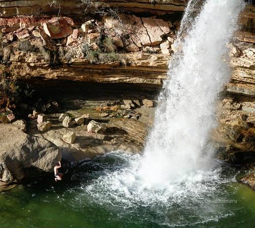 Diuen que demà torna l'aigua... Tornarán a apareixer aquests salts d'aigua? @instagrafic @instantes_gf #instantes_agua