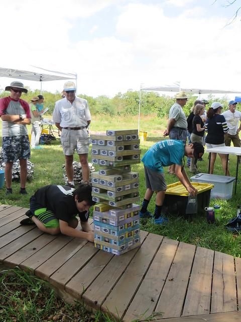 Oyster habitat stack 1