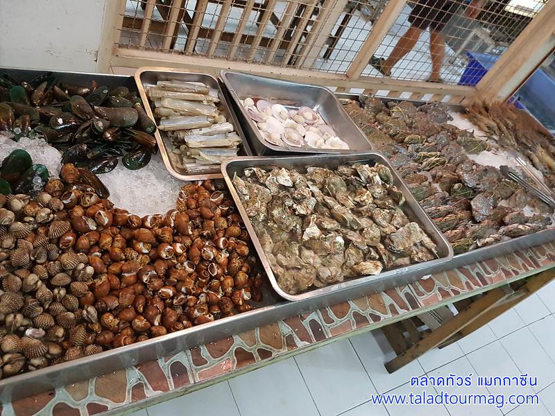 สิมิลัน บุฟเฟ่ต์ทะเลเผา สาขาสนามบินน้ำ อาหารทะเลระดับพรีเมี่ยม