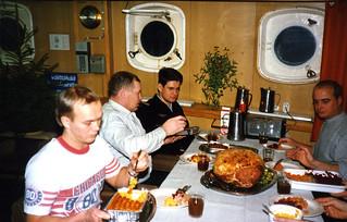 Jouluruokaa VL Valppaalla vuonna 1986