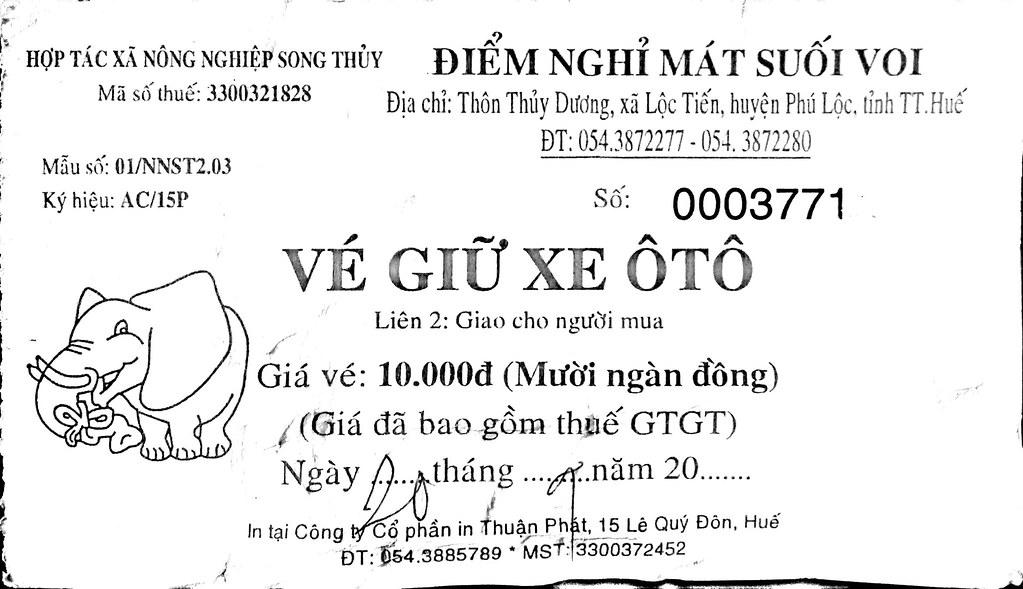 Suoi Voi fuentes termales de Vietnam - Entradas a Suoi Voi
