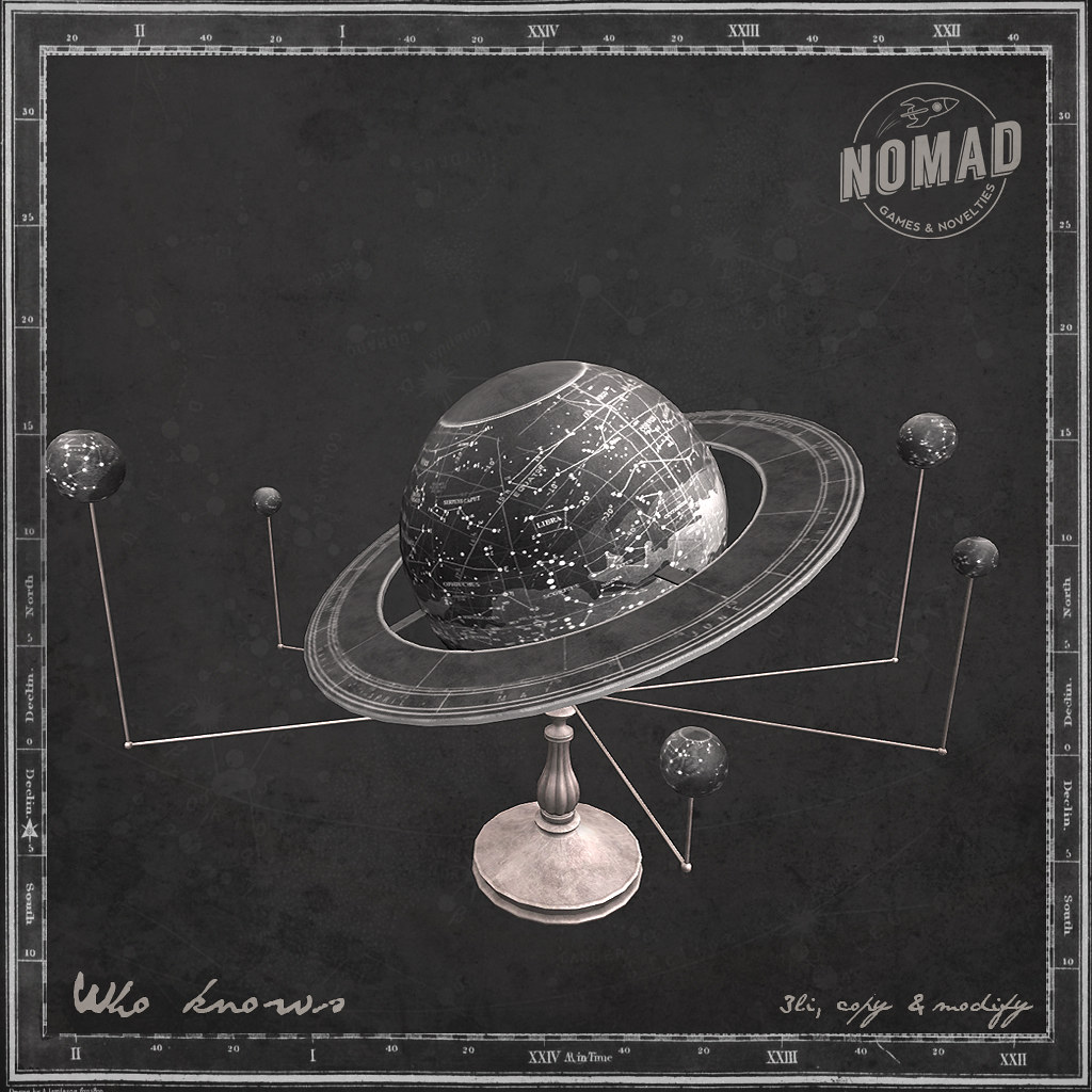 NOMAD // Who Knows - SecondLifeHub.com