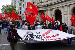 May Day March, London 5