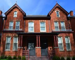 Victorian Semi-detached House .... 10-12 Glen Road .... Toronto, Ontario