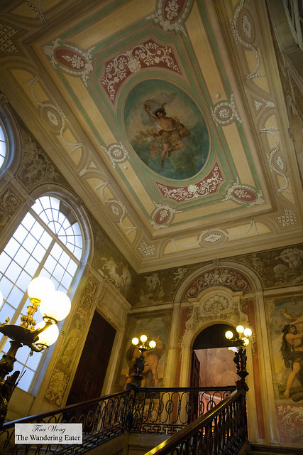 Frescos on the ceiling