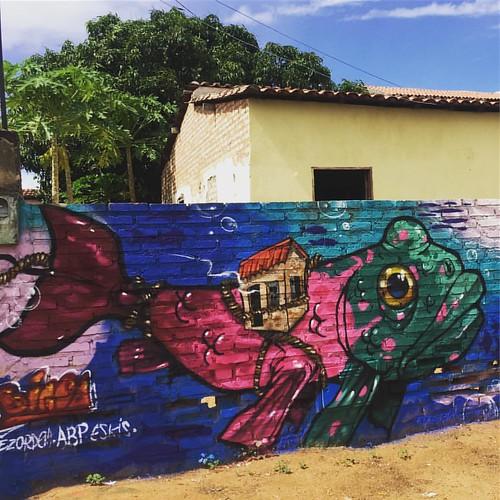 Para onde for, para onde alcances ela estará protegida  Meu lar, minha quebrada, meu mundo  Trip com Fabi e ikaro em Caldas do jorro -Ba Junto com @vidalsmc e @lucianamendesbrito   #bigodosapo #fish #frogfish #fisheye #abp #novadezordem #academiabrasileir