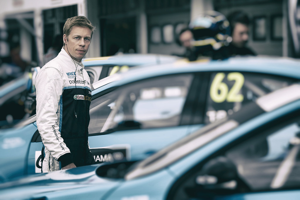 BJORK Thed (swe), Volvo S60 Polestar team Polestar Cyan Racing, ambiance portrait during the 2017 FIA WTCC World Touring Car Race of Hungary at hungaroring, Budapest from may 12 to 14 - Photo Jean Michel Le Meur / DPPI