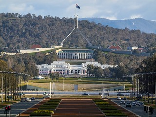 Canberra's Parliament House: a 'symbol of national identity' | by publicdomainphotography