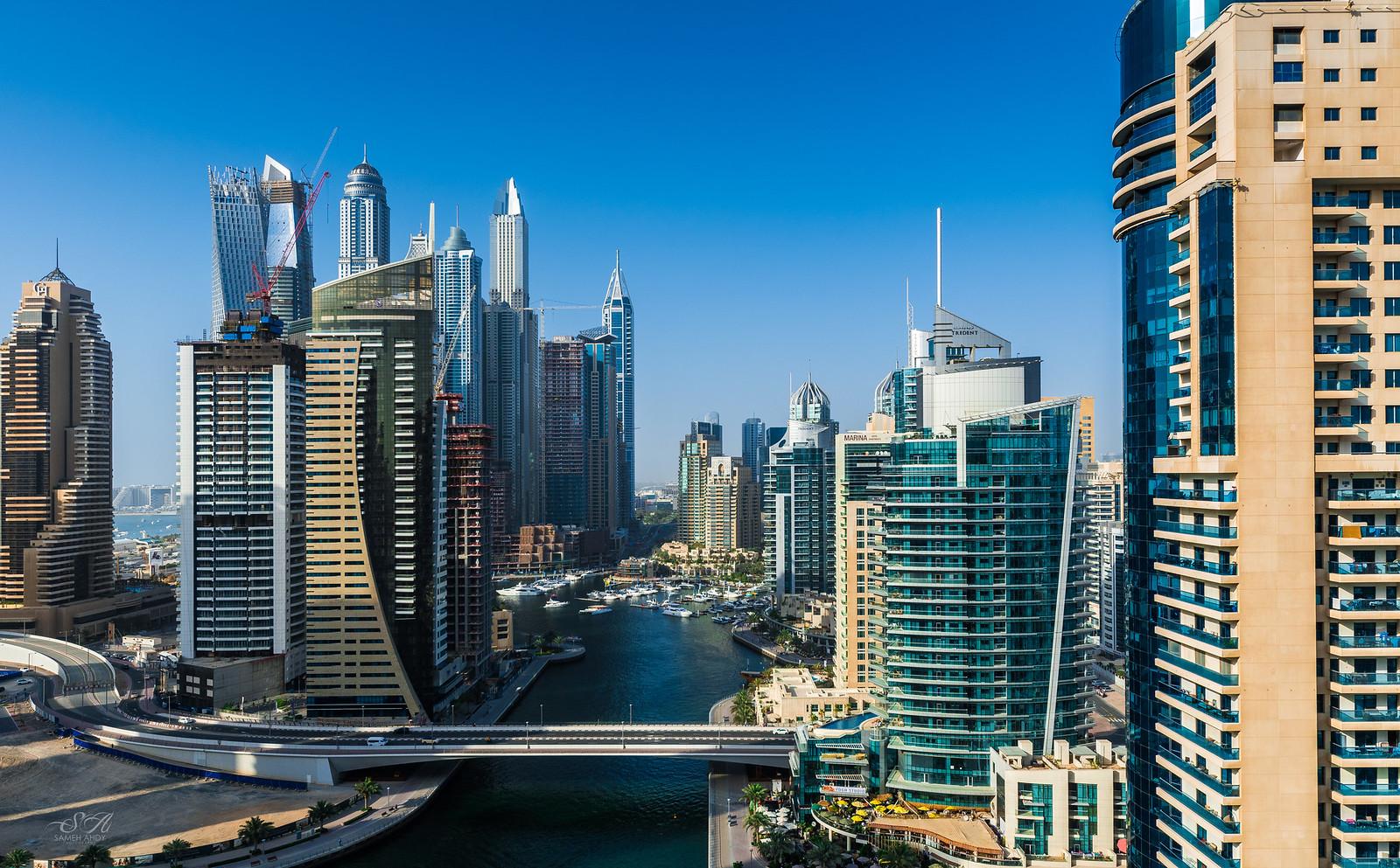 Dubai Marina 1 by Sameh Ahdy, on Flickr