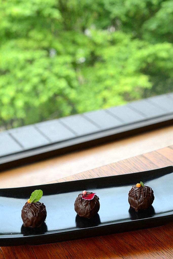 太魯閣晶英酒店巧克力甘納許體驗