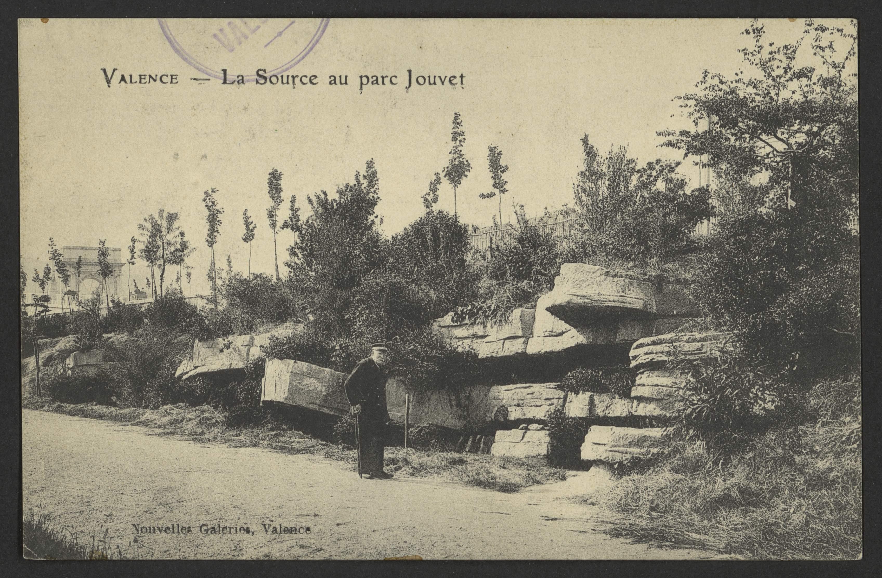 Valence - La source au Parc Jouvet
