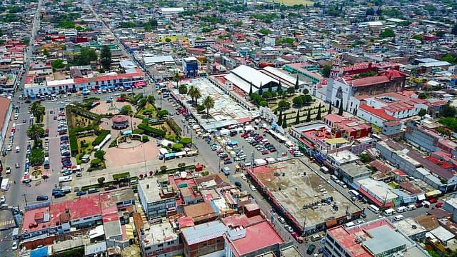 Centro de Amecameca en el Estado de México.