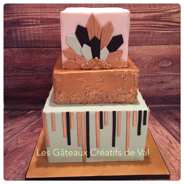 Cake by Les Gâteaux créatifs de Val Cake Designer