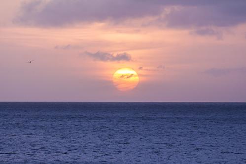 bonaire bonairesinteustatiusandsaba caribbean color diverdoug marine ocean reef sea sunrays sunset sunshine