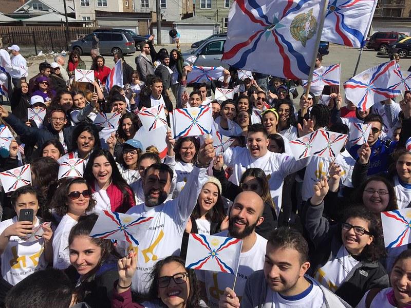 Assyrian New Year Parade 6766:2016--Rabi Gewargis Sulaiman