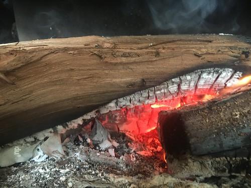 Kanuka firewood is burning great