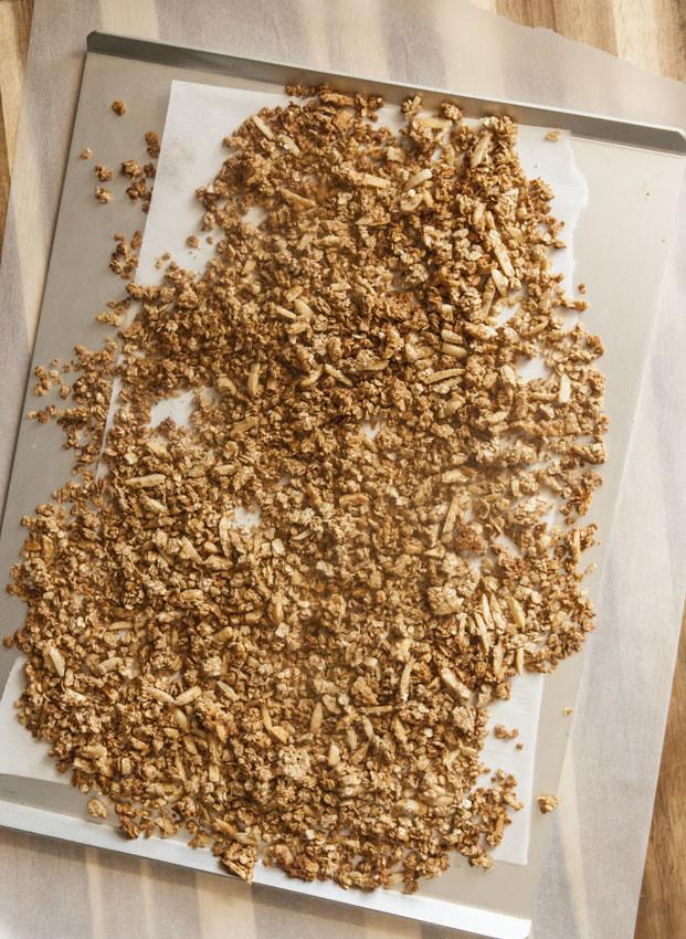 Honey Cinnamon Almond Granola 3
