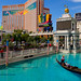 Treasure Island Hotel from the Venetian, Las Vegas, Nevada, USA