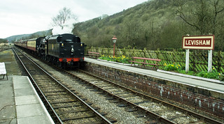 20170330-27_Black Five Engine 5MT 45407 + Train coming in to Levisham Station
