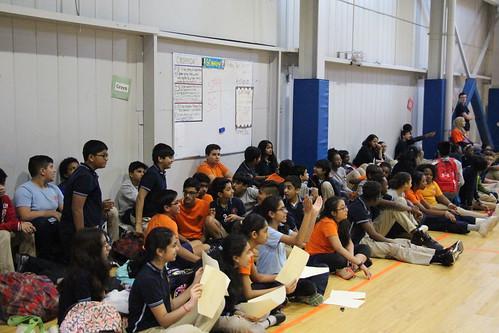 PARCC Pep Rally at TEECS
