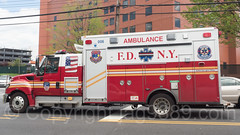 FDNY Ambulance, East Bronx, New York City