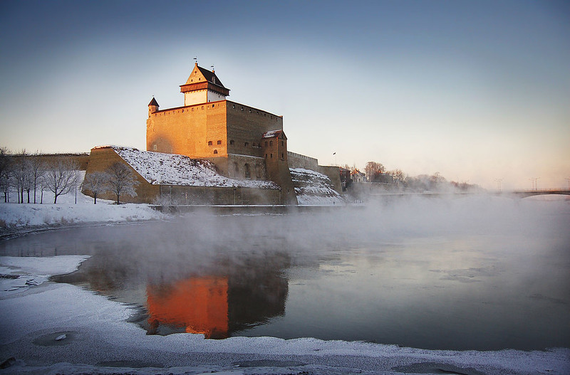 Hermann Castle at Narva, Estonia