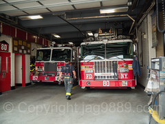 FDNY Firehouse Engine 157 and Ladder 80, Port Richmond, New York City