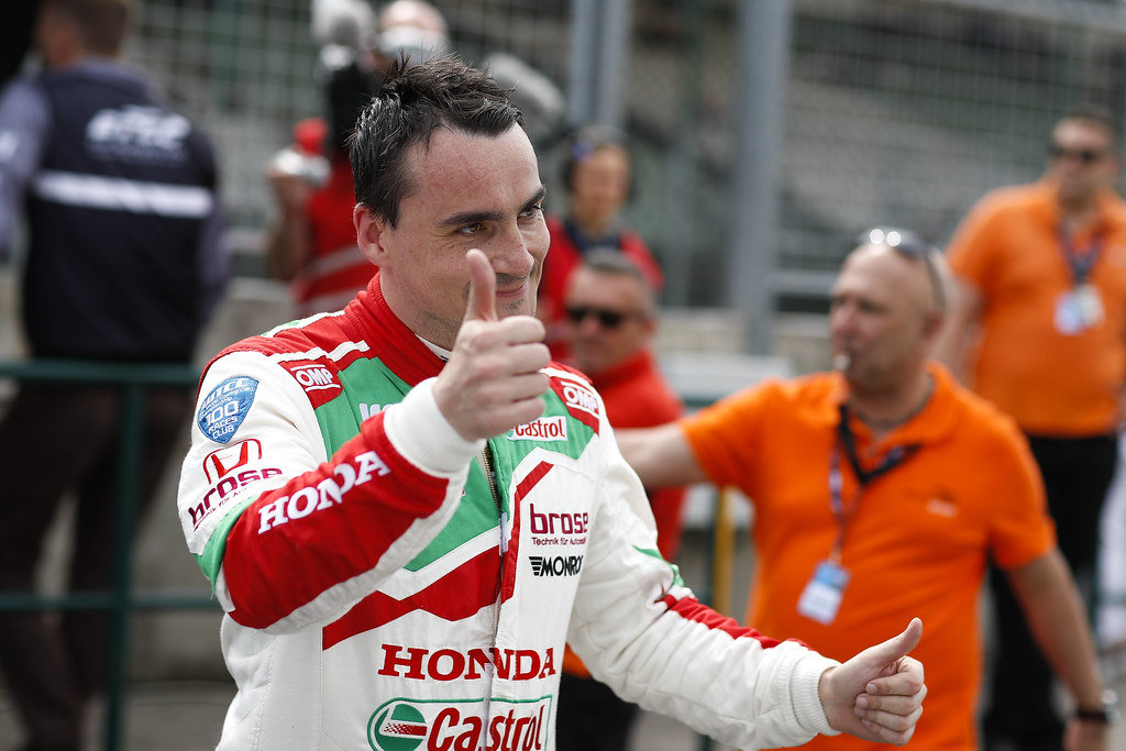 MICHELISZ Norbert (hun), Honda Civic team Castrol Honda WTC, ambiance portrait   during the 2017 FIA WTCC World Touring Car Race of Hungary at hungaroring, Budapest from may 12 to 14 - Photo Frederic Le Floc'h / DPPI
