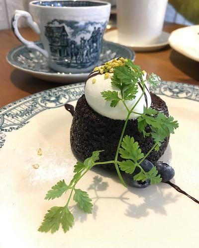 クラシックショコラとコーヒー #classicchocolat and #coffee #☕️ @ sweets CAFE MINORIty