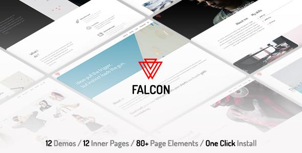 Falcon v1.0 - Clean & Minimal Multi-Purpose WordPress Theme
