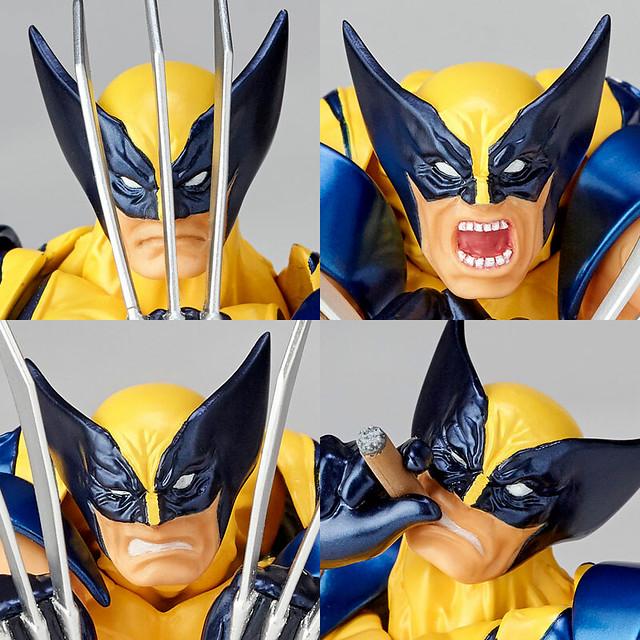 【新增官圖&販售資訊】海洋堂 Amazing Yamaguchi 最新彈《X戰警》金鋼狼! ウルヴァリン