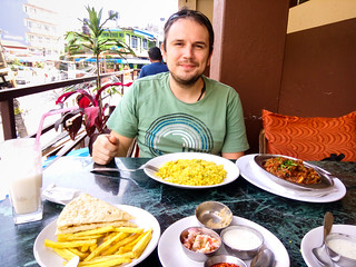 dining in Pokhara