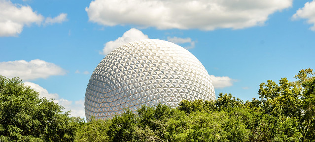 trees spaceship earth
