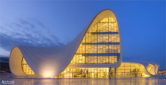 Heydar Aliyev Centre, Baku, Azerbaijan (explored)