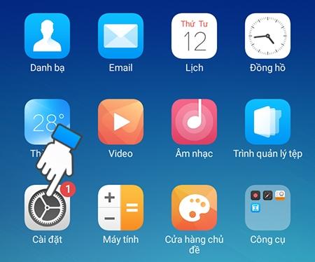 Hướng dẫn khóa ứng dụng trên Oppo - Tính năng mở khóa ứng dụng bằng vân tay trên Oppo