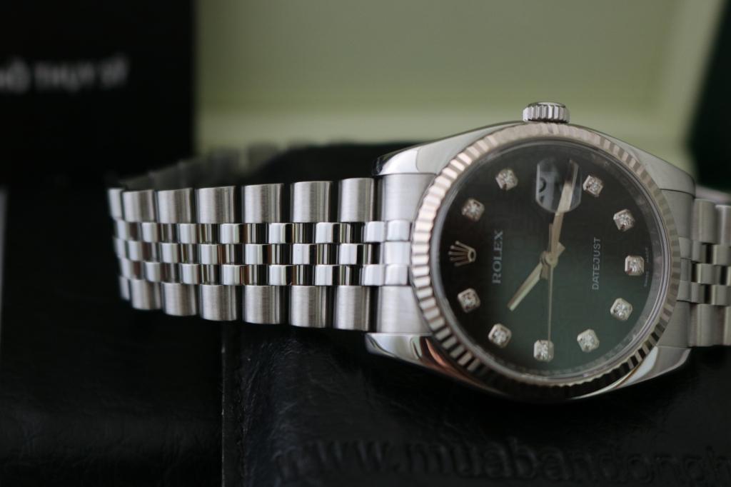 Đồng hồ rolex datejust 6 số 116234 – mặt vi tính xoàn – inox – size 36mm