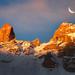 Golden Mountain Ridges by a galaxy far, far away...