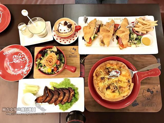 林口三井【Hello Kitty Red Carpet美式餐廳】好萊塢電影主題餐廳